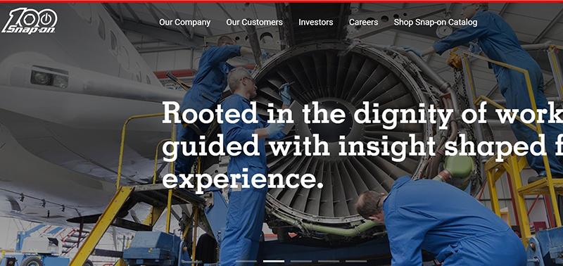 Snap-on homepage