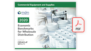 economic benchmarks for wholesale distributors report cover_commercial equipment
