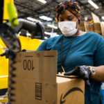 Amazon fulfillment center employee