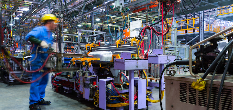 Industrial Production Falls 1.3% in September