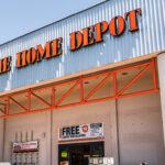 Home Depot location in California