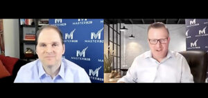 screen grab of Andy Hoar and Brian Beck from MasterB2B
