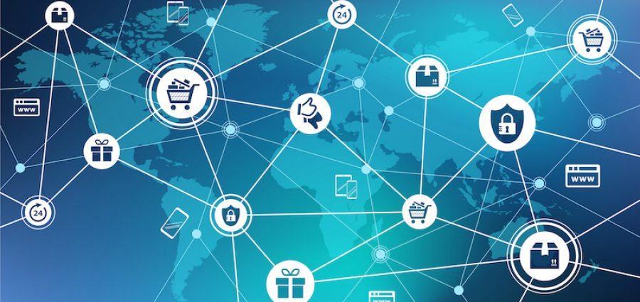 e-commerce / online shopping concept – vector illustration