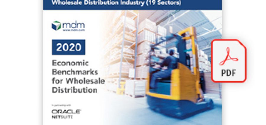 Economic Benchmarks for Wholesale Distributors Report