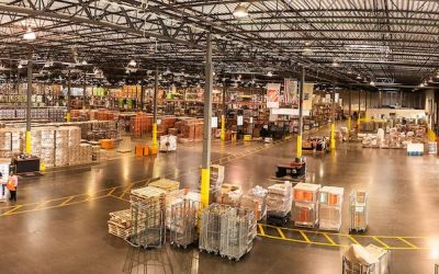 Home Depot Distribution Centers
