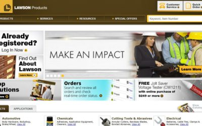 Lawson Products homepage