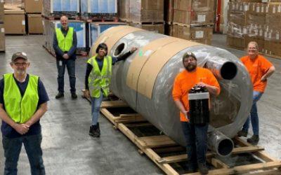 Employees at Pentair's Chardon, Ohio plant