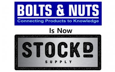 Stock'd Supply rebrand