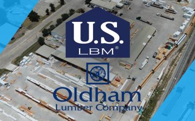 US LBM acquisition Oldham Lumber