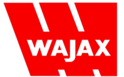 red logo for Wajax company
