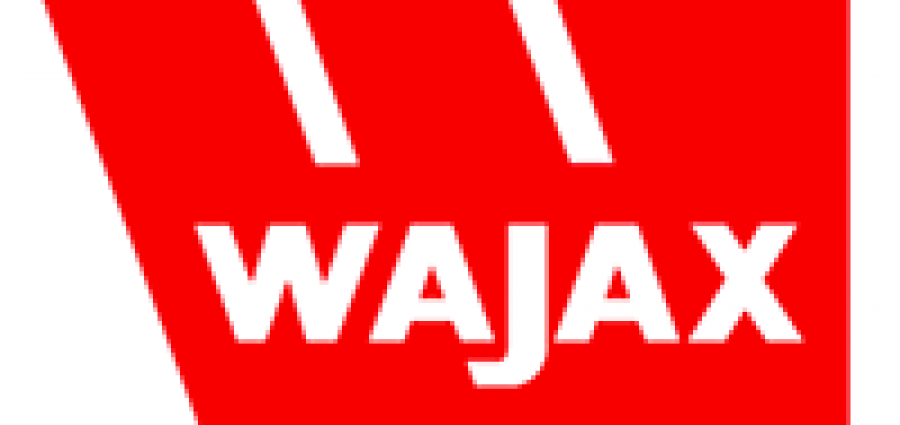 red logo for Wajax company