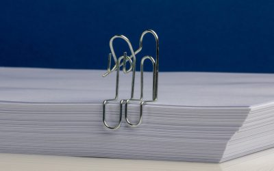 empathy at work seen through paperclips
