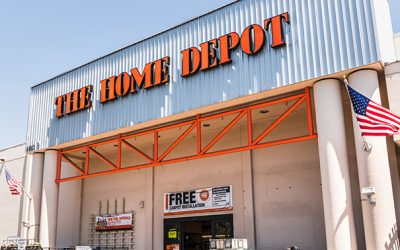 Home Depot location in California