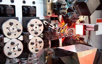 Industrial cnc spring making machine