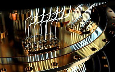 quantum computer parts
