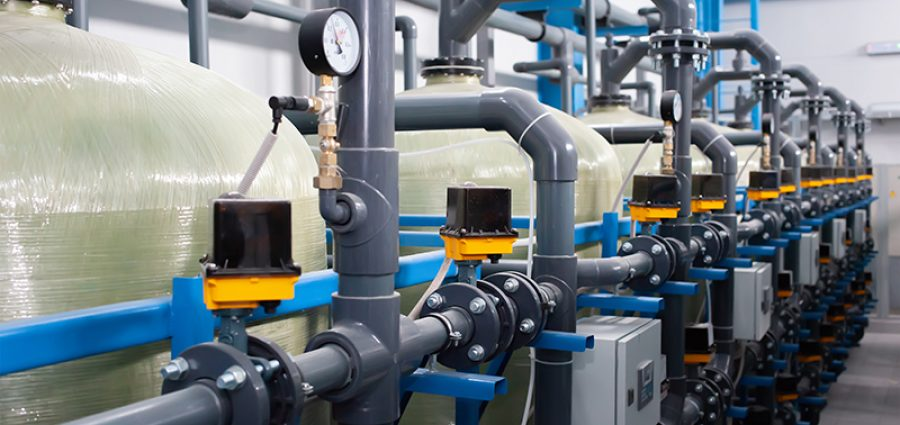 Automation of the industrial water treatment system